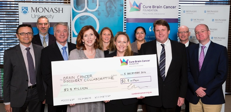 Brain Cancer Discovery Collaborative funding